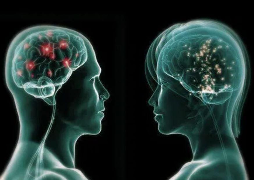 Due uomini a Raggi X che si guardano